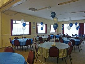 newbold rugby club balloons